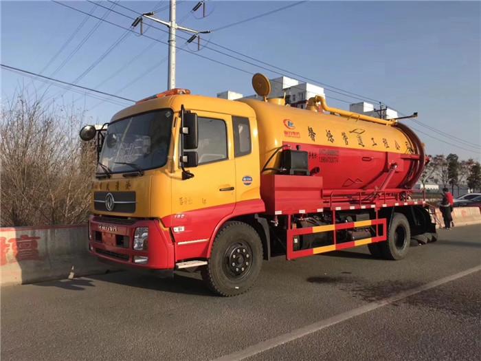 市政抢修抽泥浆抽污车价格参考