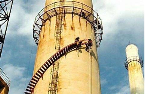 赣州烟囱安装旋转梯公司欢迎致电