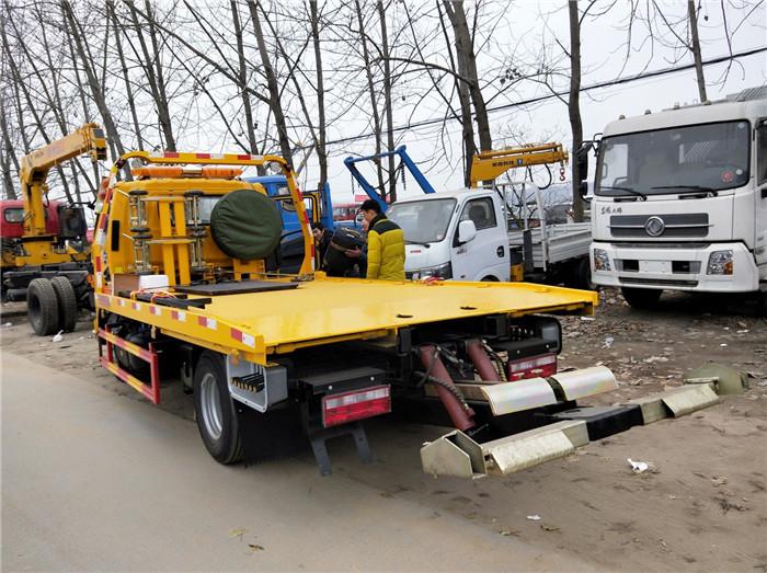 程力道路救援拖车什么价位