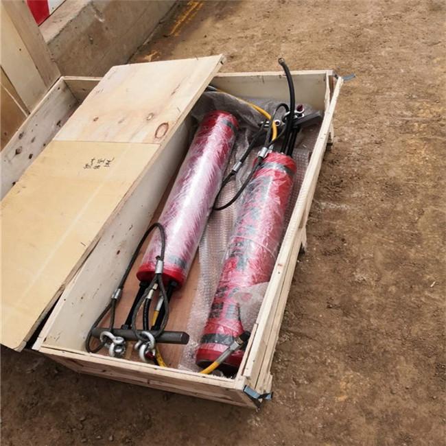 铜川铁塔开桩用带挖机劈裂机