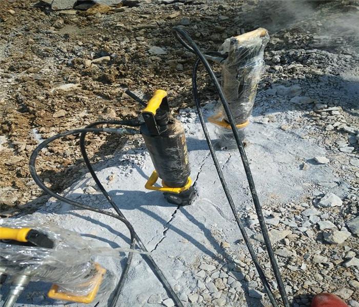 基坑开挖静态爆破岩石设备湖南