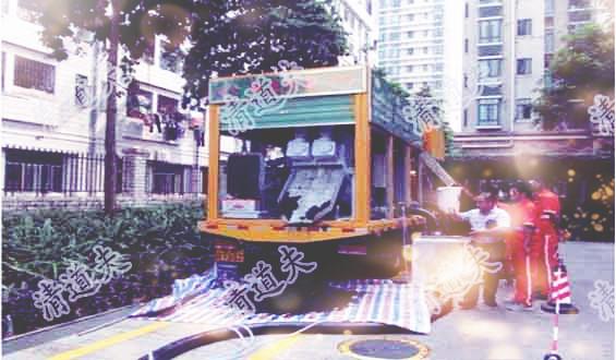 台州市黄岩区环卫抽粪高压清理管道清淤疏通【清道夫2019】