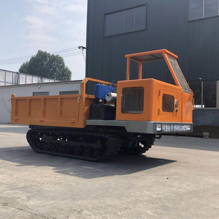 湛江市四缸矿用履带式爬爬车8吨的详细配置图片
