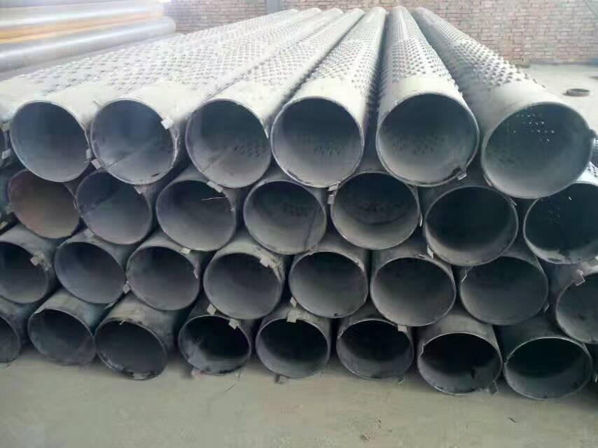 机井钢管325mm桥式滤水管生产设备