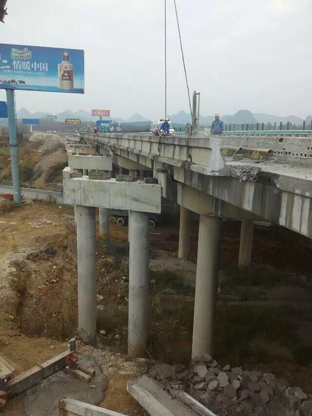 陽泉市繩鋸切割拆除橋梁臨時固結效率高 費用低