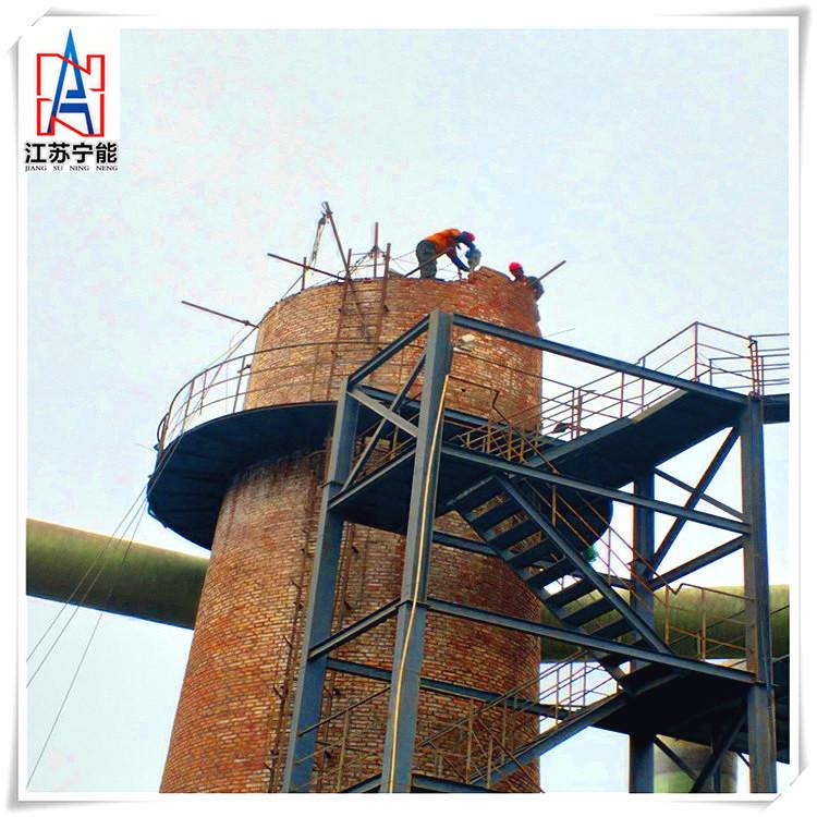 江西吉安40米砖烟囱拆除公司——施工工期短