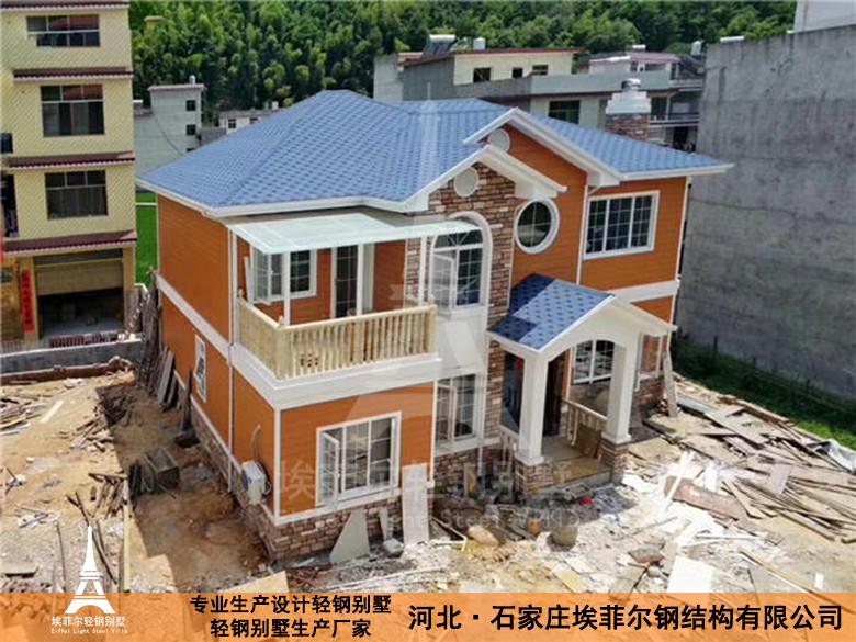 河南新乡轻钢结构厂房轻钢别墅生产厂家