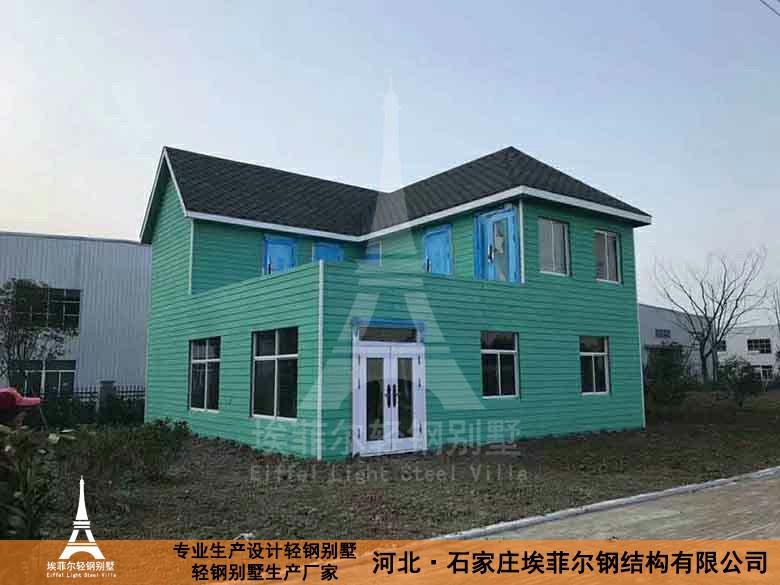 临沂山东别墅v别墅钢结构房屋钱l字形木屋图片