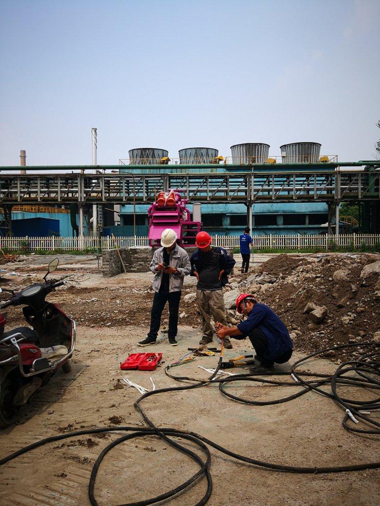 省新竹市地铁用泥浆分离机图片