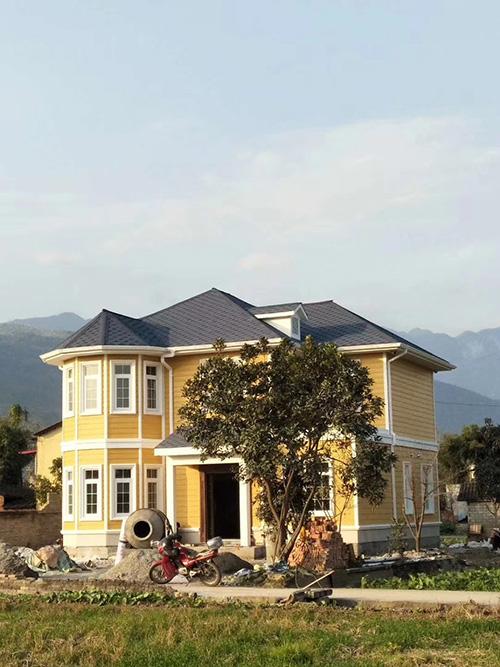 文县轻钢别墅房屋30天建造完成