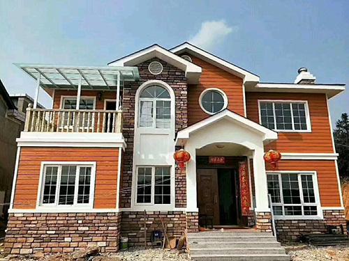 盖就要盖漂亮6套二层别墅设计图,有钱了就回家修别墅,想要多大就修