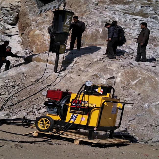 巴彦淖尔混凝土破碎硬石头解体裂石机/哪里便宜