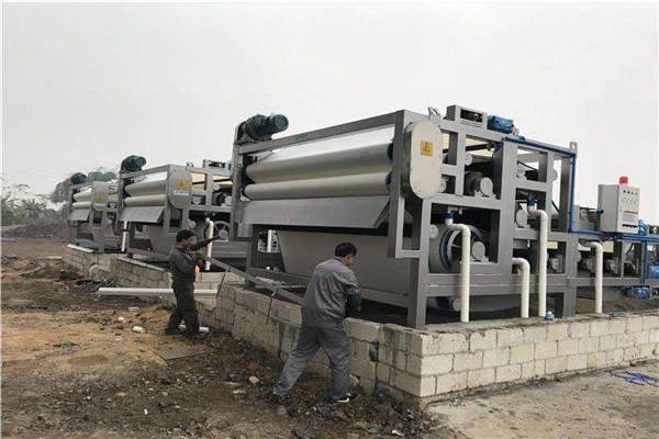 广安泥浆脱水机设备图片