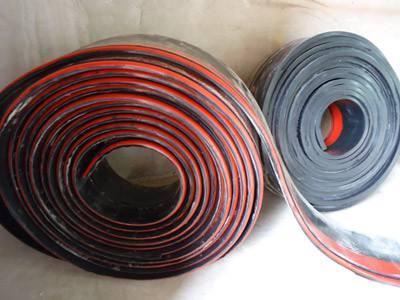 橡胶防溢裙板 导料槽防溢裙板  聚氨酯防溢裙板