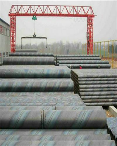 自来水输送用碳钢螺旋钢管加工厂家许昌襄城