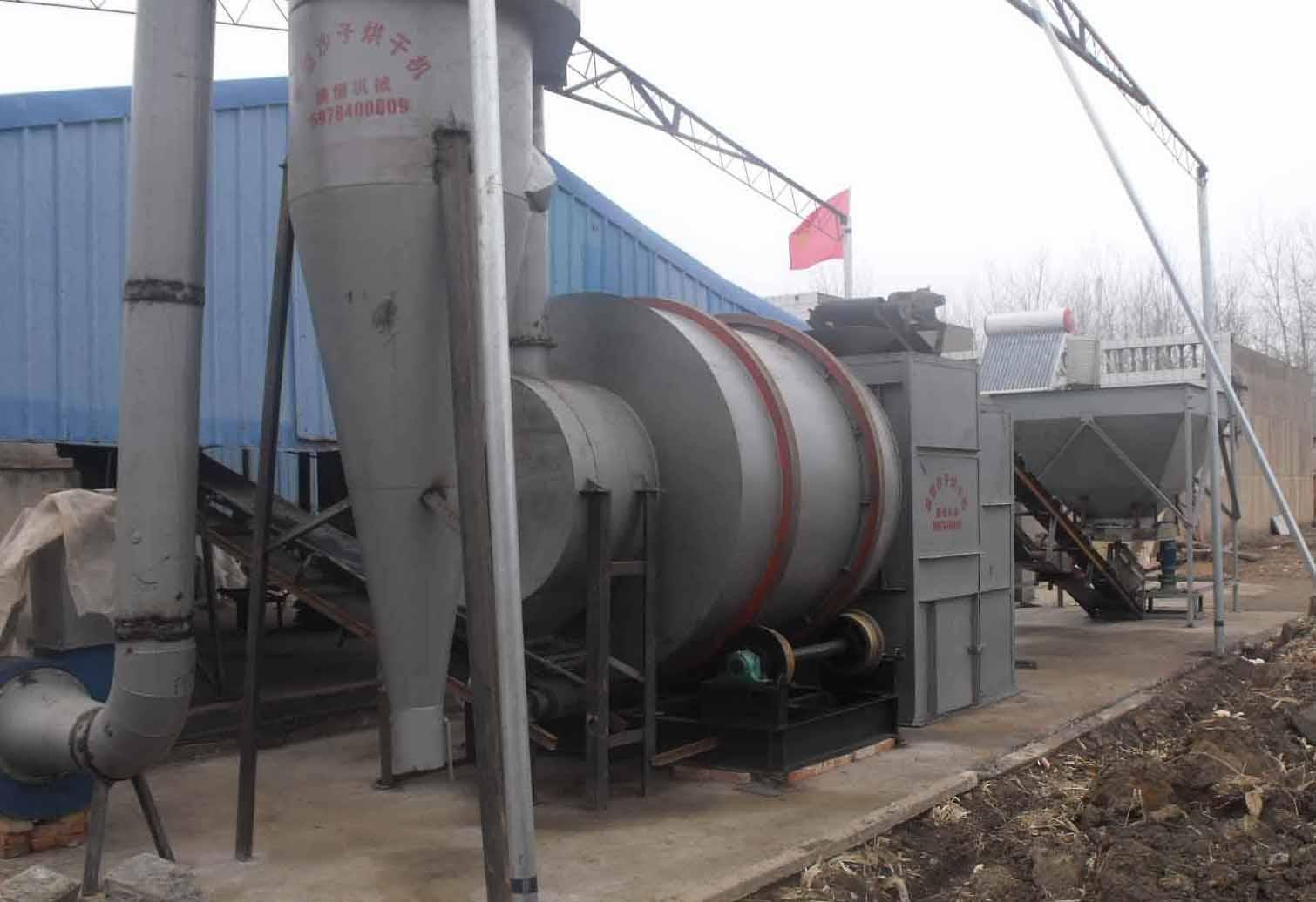 青海海西天产500吨沙子烘干全套设备容积