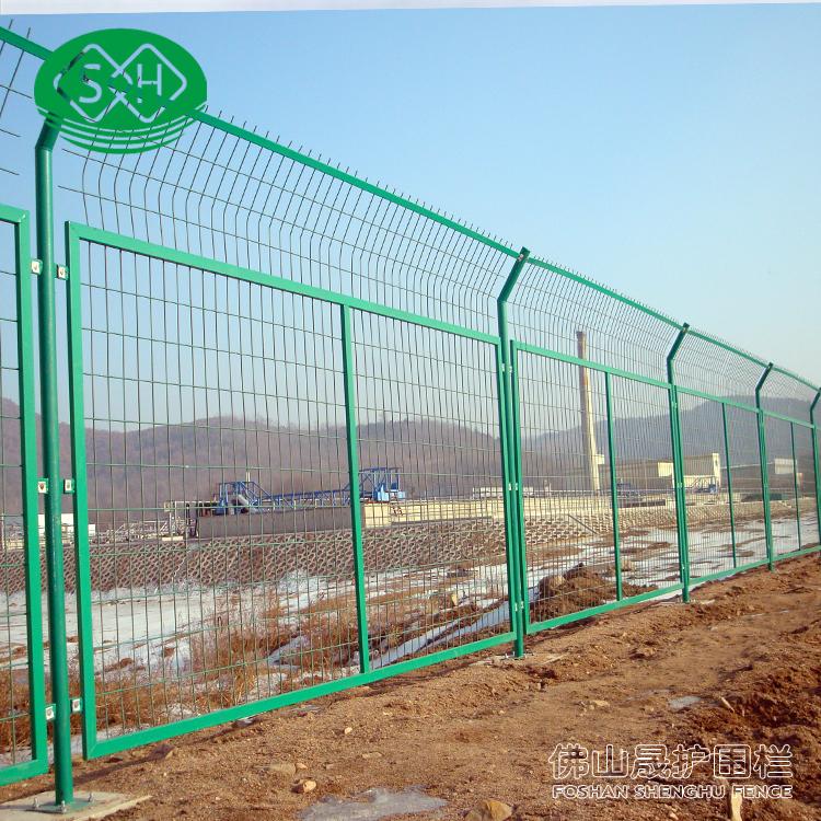 工地铁丝网围栏 深圳双边丝护栏现货 清远高速公路护栏网