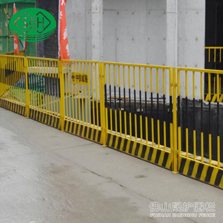 大量坑护栏现货 写字严禁抛物、禁止跨越