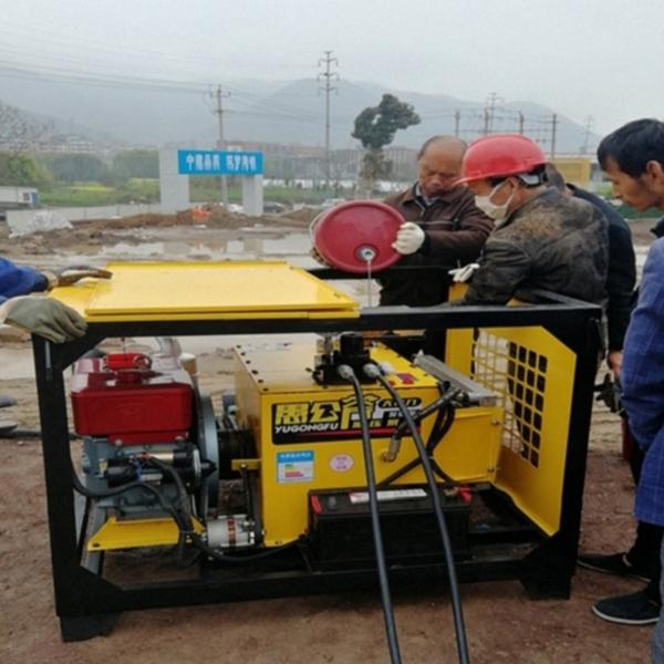 梧州竖井裂石机开采设备构造