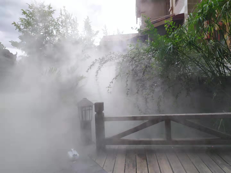 四川省德阳市人造雾景观设计安装找乾祥宇四平的室内设计公司图片