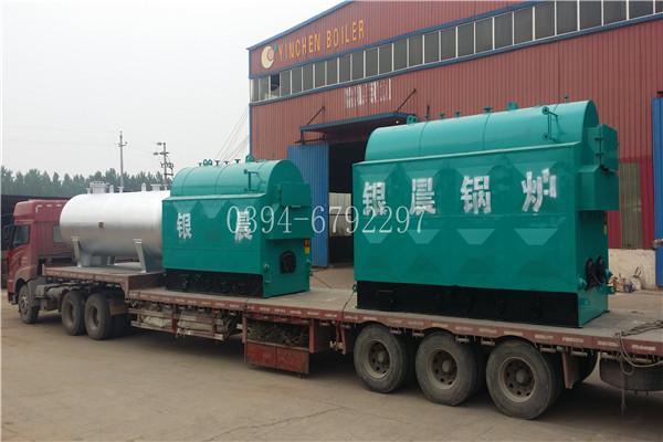 湖南80万大卡燃煤导油炉电话太康县银晨锅炉