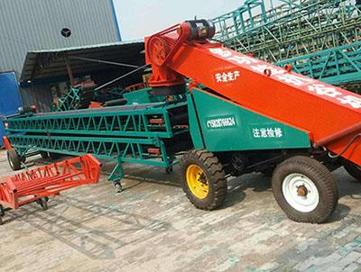 移动式装粮机扒粮输送机卸车输送机