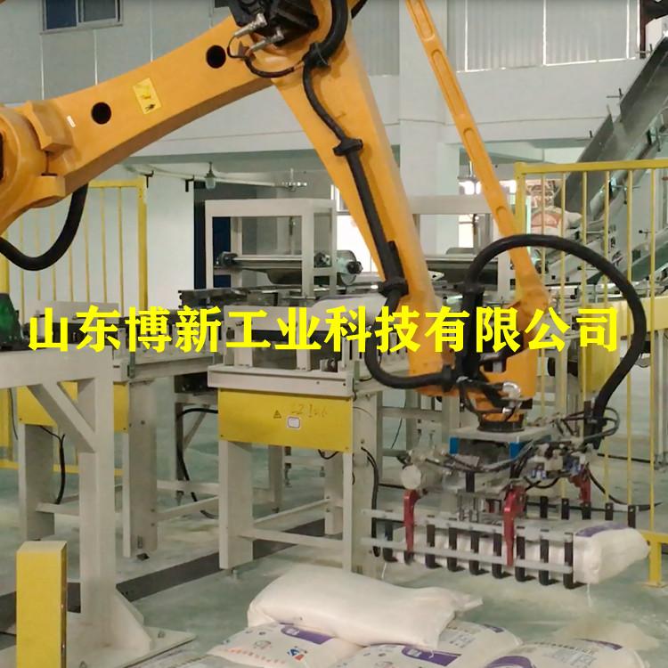 硫酸铵自动码垛机、码垛机厂家报价