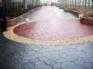 江西赣州景区压膜地坪材料生产厂家-日晨建材
