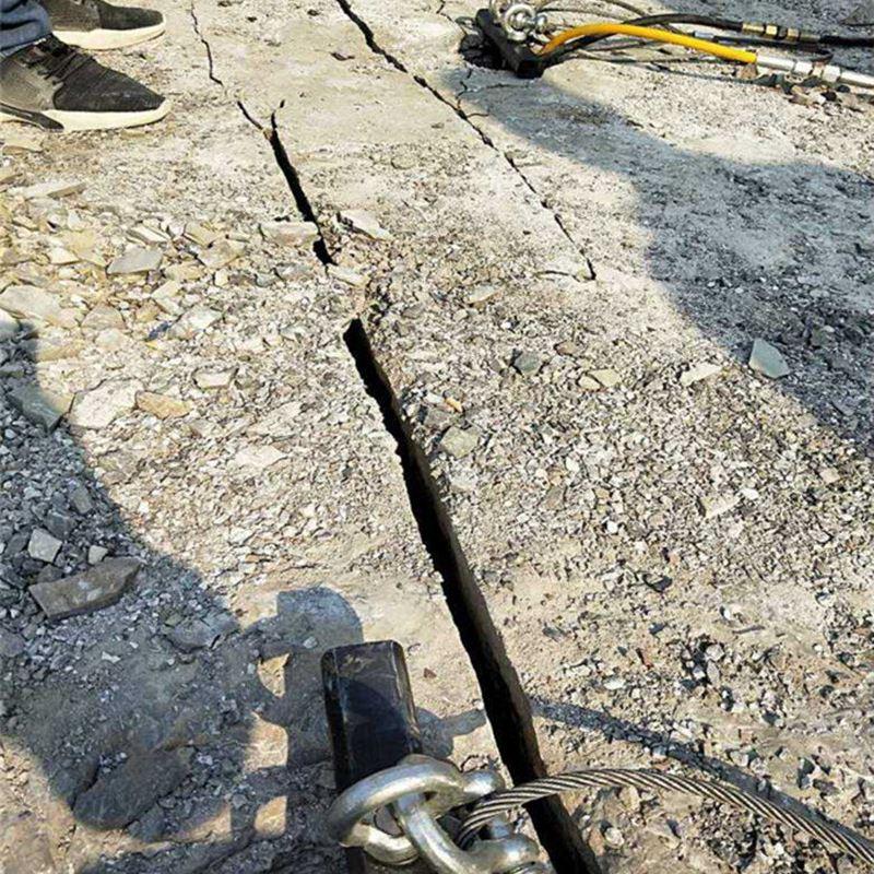 曲阜:岩石开采成本低的破石头方法