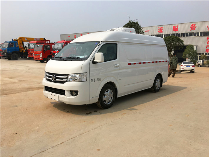 New offer for 3m 6 refrigerated trucks in Shaanxi
