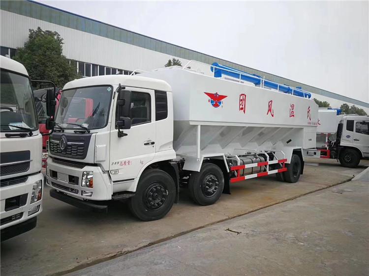 55立方半挂35吨饲料运输车现车供应