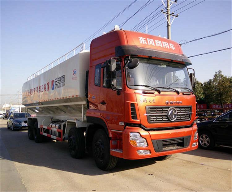 55立方半挂35吨饲料运输车现车销售