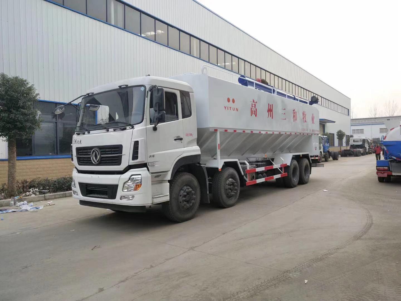 东风多利卡饲料运输车车辆结构