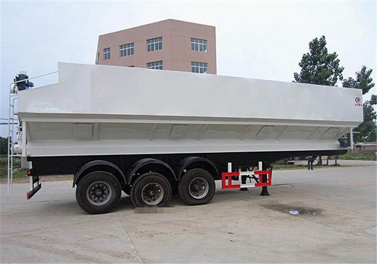 55立方半挂35吨散装饲料车那些品牌多少钱