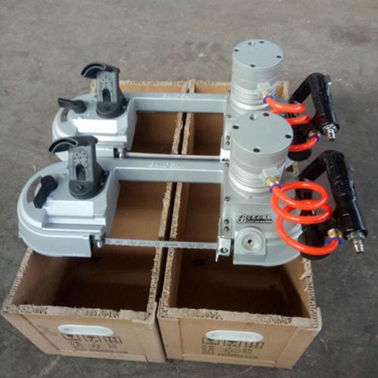 临夏JQD-8/1100型矿用无火花耐高温风动帯式锯