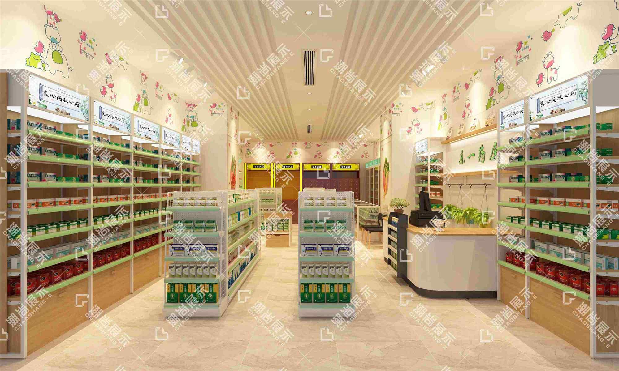 五十药店装修图片欣赏