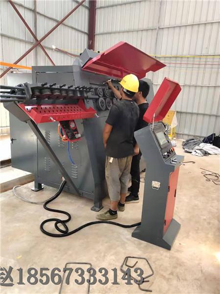 德州智能钢筋弯曲中心生产多少吨钢筋