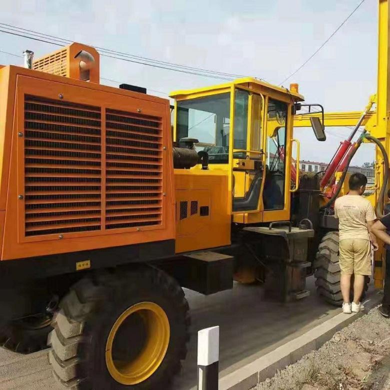 山西公路护栏打桩机生产厂家
