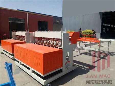 金昌市钢筋网排焊机生产工艺