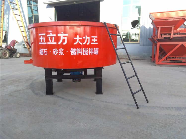 新闻枣庄沙浆细石混凝土储料罐使用原理视频