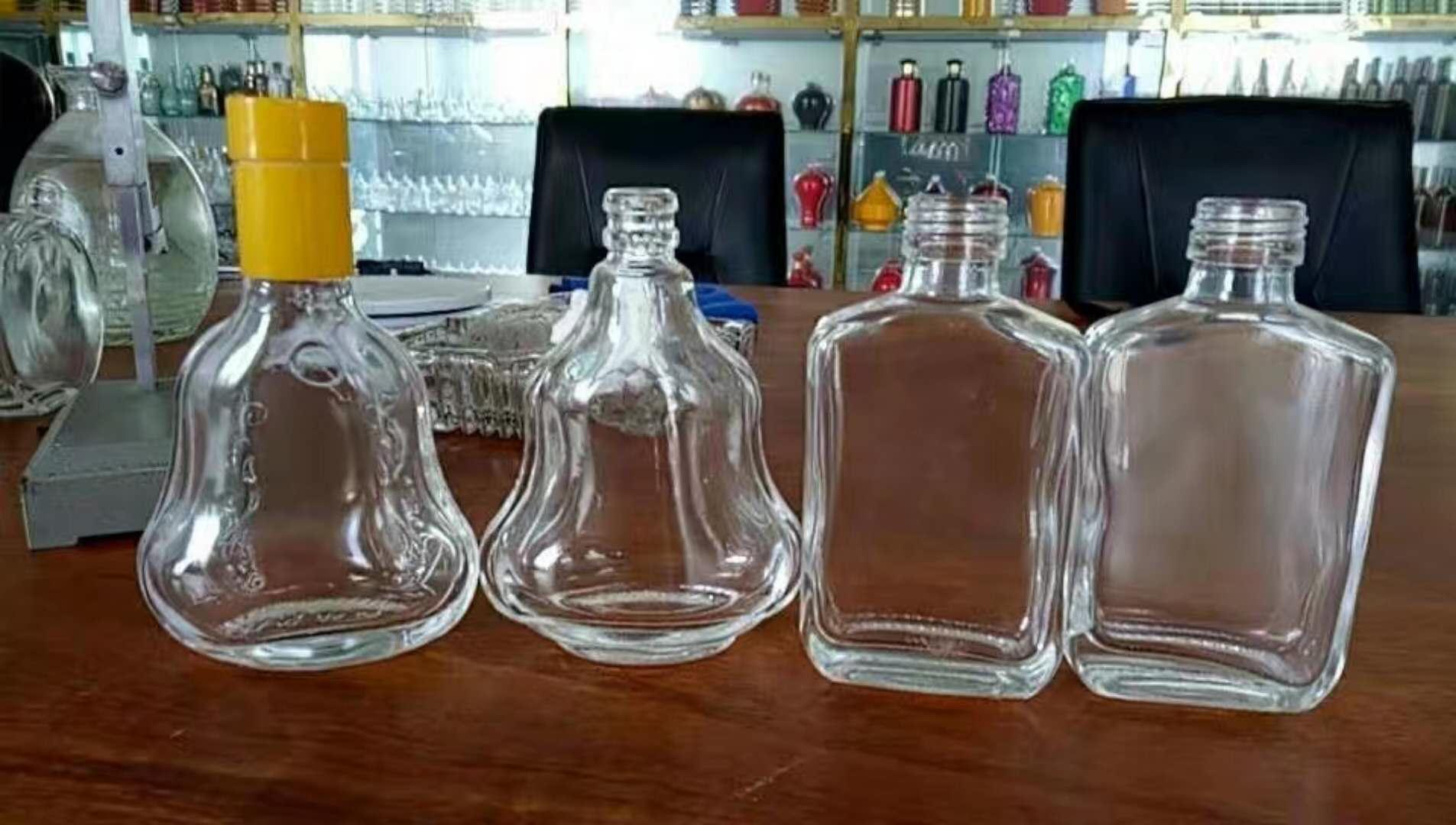 遵化洋酒瓶批发市场 水晶酒瓶制造厂 彩色酒瓶 晶白料酒瓶 酒瓶 xo酒瓶