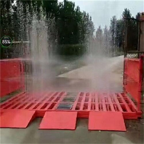 :辽宁盘锦工地洗轮机安装操作