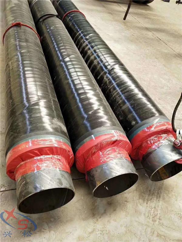 防腐外套钢管以及钢管与外套钢管之间填充的超细玻璃棉组合而成,也可