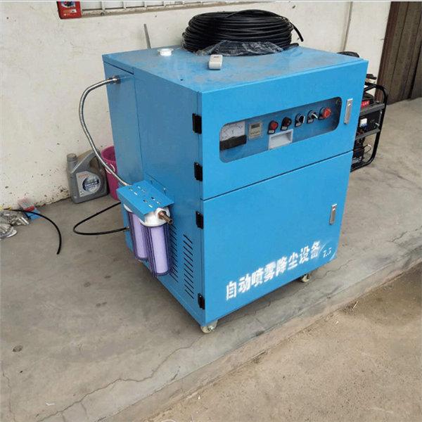 自贡工地围挡喷淋降尘系统价格