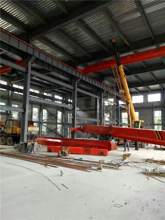 上海宝山16吨地轨航车,60吨轨道航吊