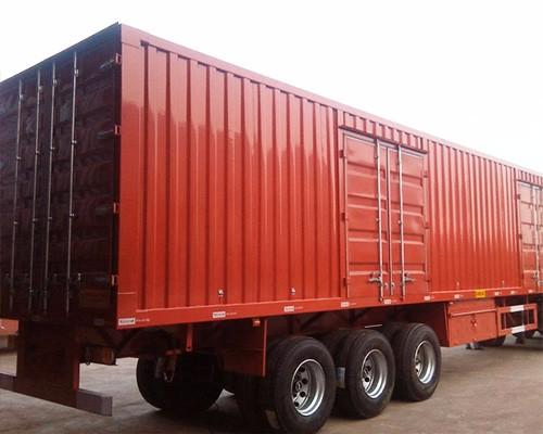 自卸挂车轻型轻可以做到多少吨制造商 