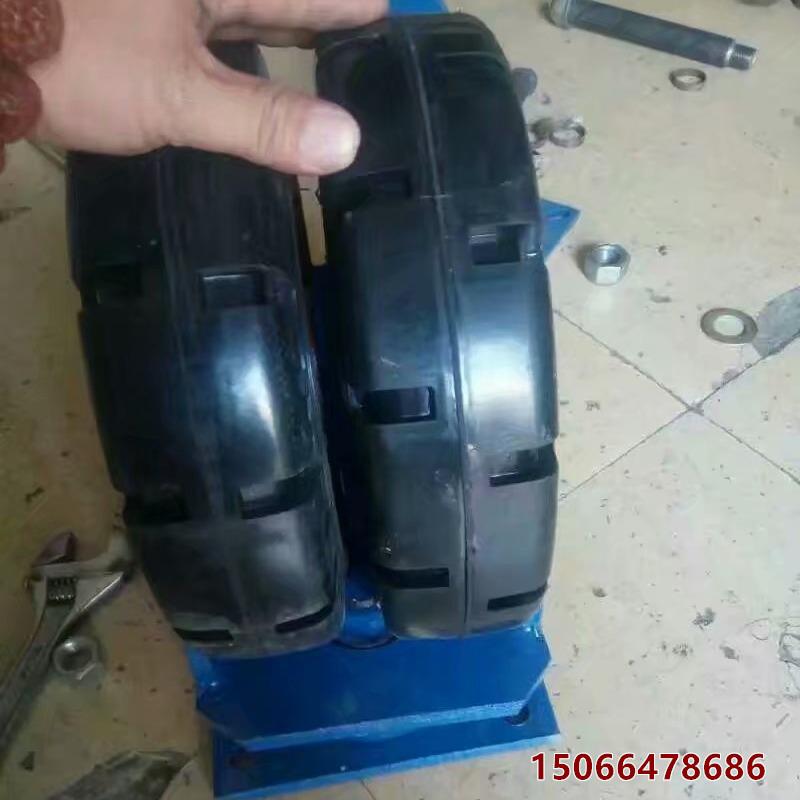 青海海南尼龙铁芯重型脚轮 单轮承重5吨重型脚轮厂家定做定制
