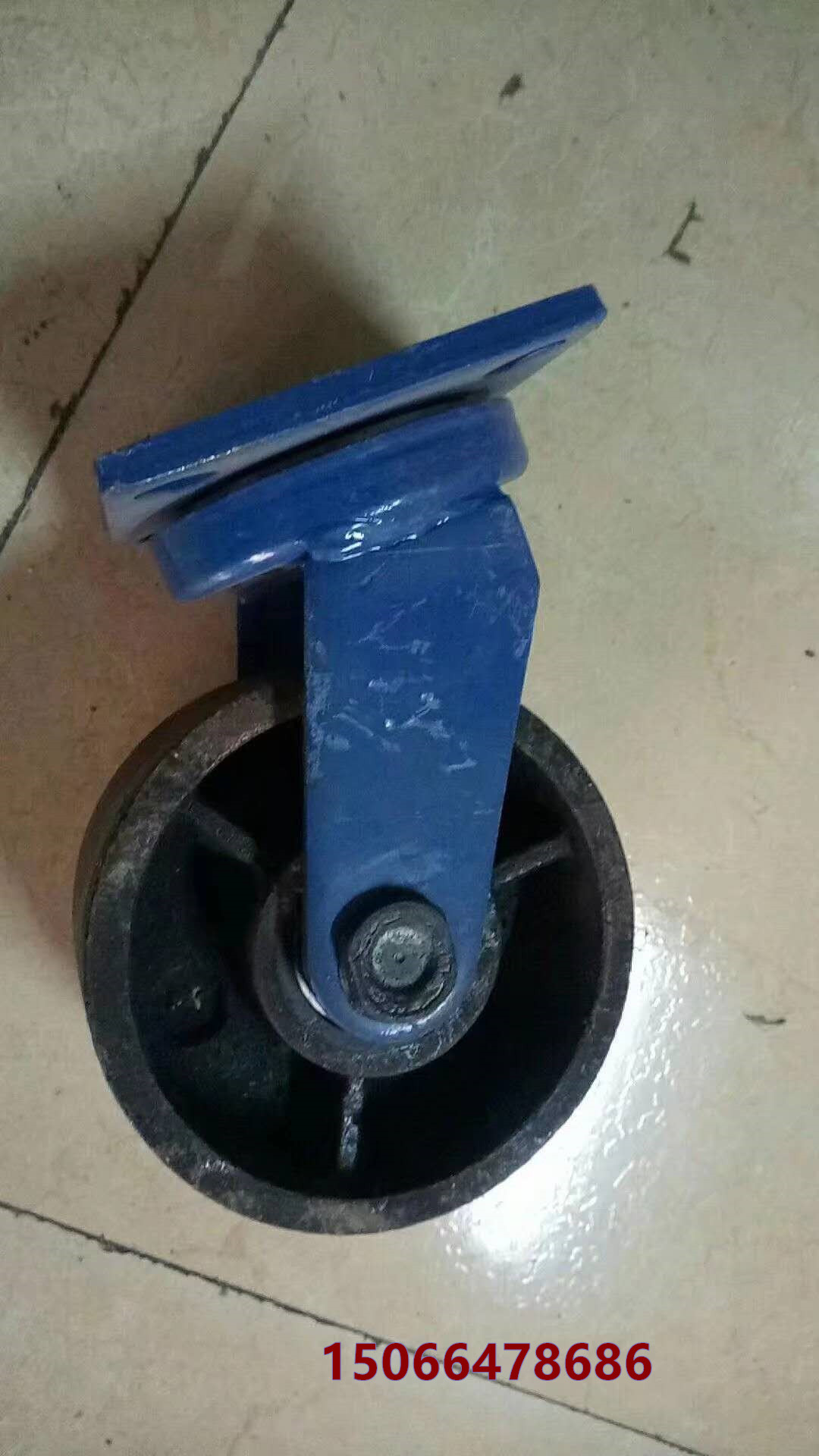 西 藏自治林芝重型白尼龙转向脚轮 焊接重型脚轮「批发更省心」