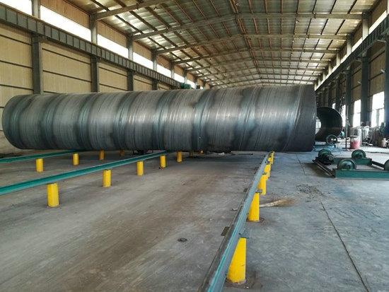 榆林直徑1200*10螺旋焊接鋼管結構介紹