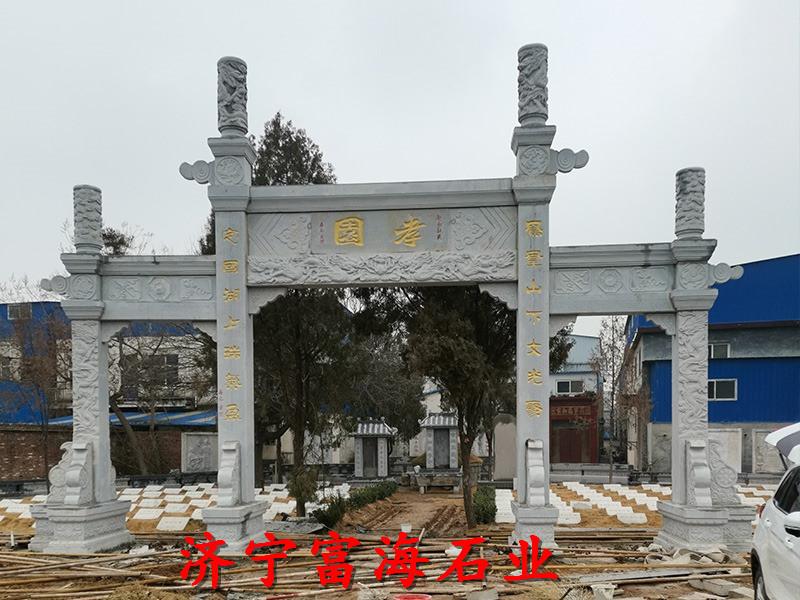 赣州石雕牌坊六角凉亭服务至上-业务面向全国